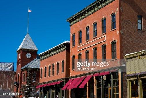 Down town Telluride Colorado
