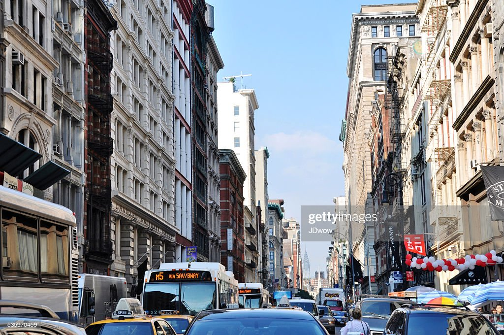 Down Town Traffic : Stock Photo