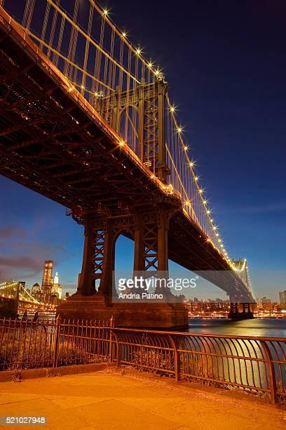 Down Under the Manhattan Bridge Overpass, Brooklyn, New York