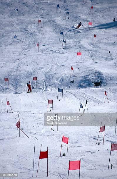 Downhill ski race, United States of America, North America