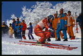 Downhill Skier at the Olympics