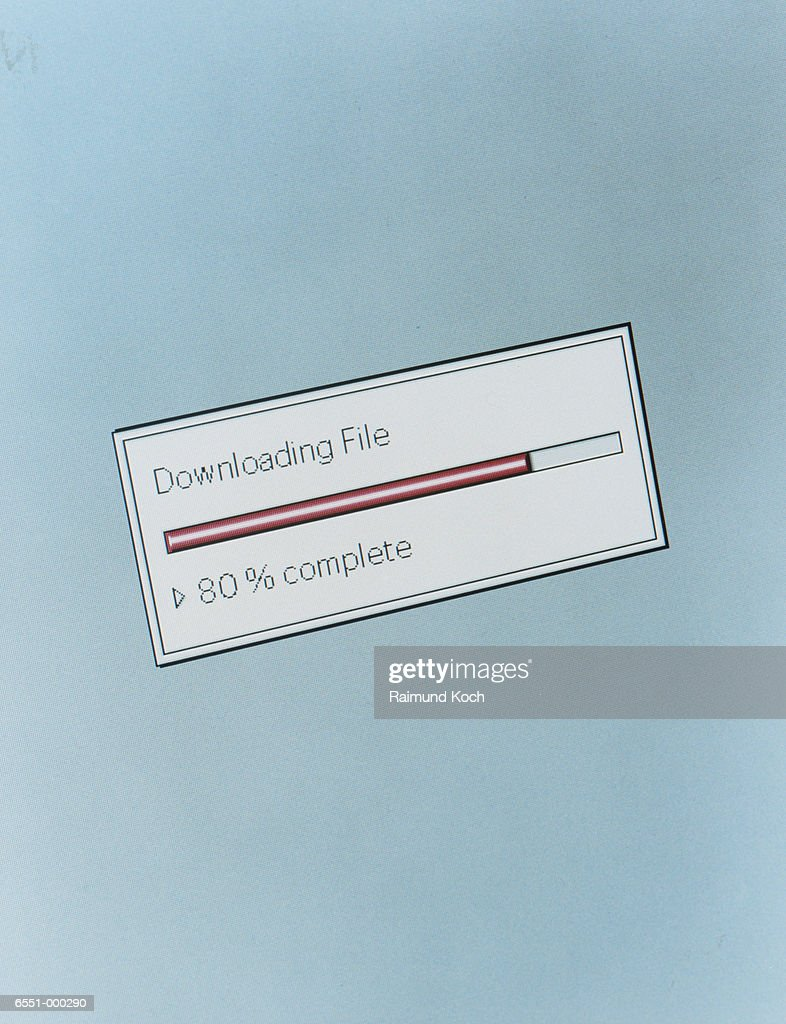 Downloading Icon : Stock Photo