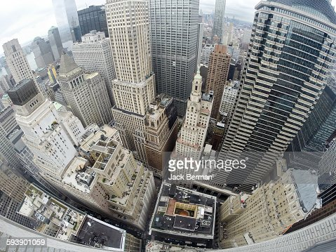 NYC Downtown aerial