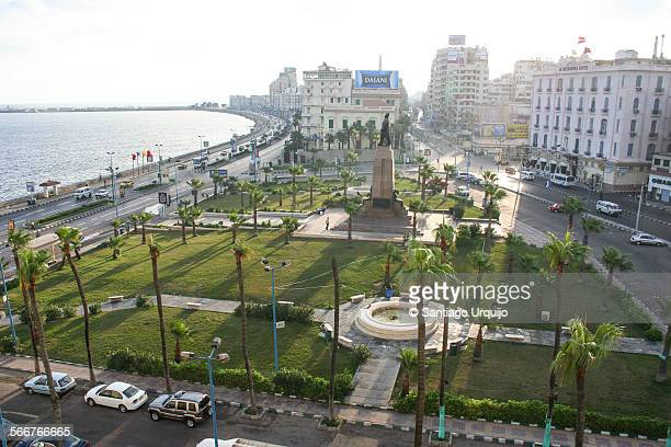 Downtown and corniche of Alexandria