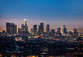 LA Downtown at Night