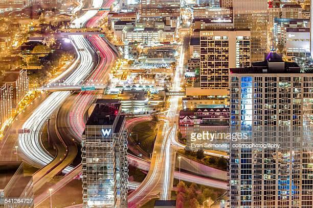 Downtown Atlanta, GA at Night
