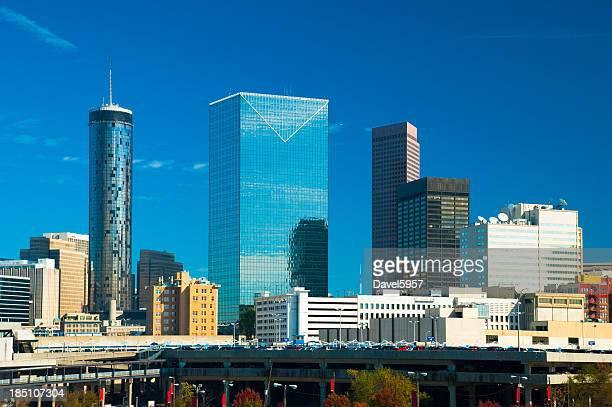 Downtown Atlanta scene