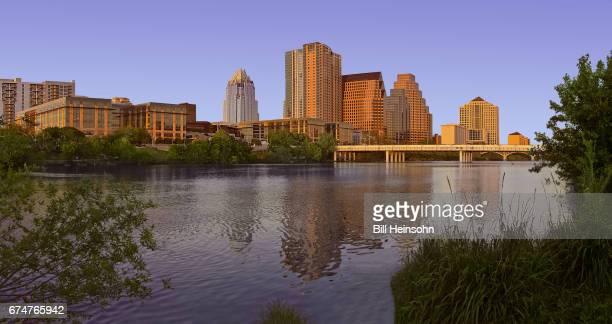 Downtown Austin and Lady Bird Lake, Texas
