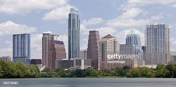 Downtown Austin in Summer