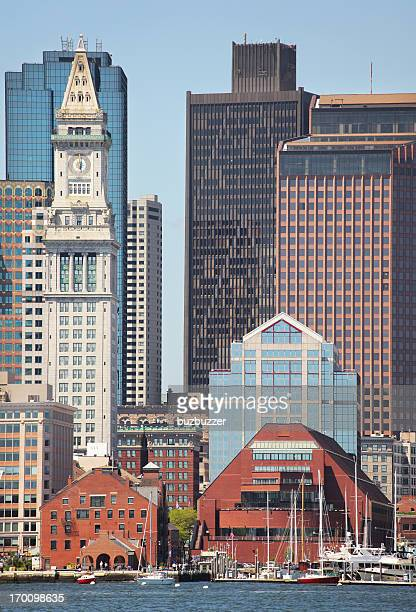 Downtown Boston City Landmark Buildings