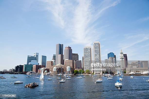 Downtown Boston From the Harbor