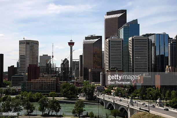 Downtown Calgary Skyline
