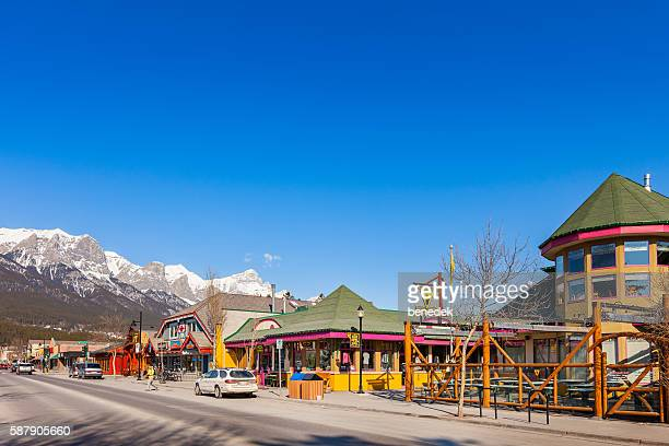 Downtown Canmore Alberta Canada