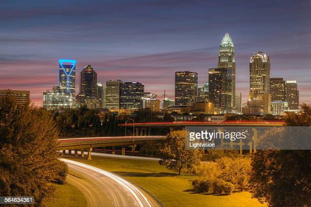 Downtown Charlotte, North Carolina Skyline