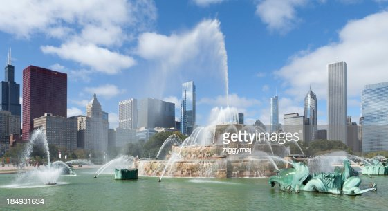 Downtown Chicago - Buckingham Fountain
