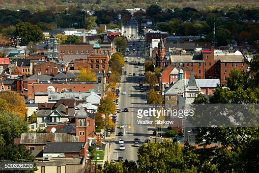 Downtown Chillicothe in Autumn