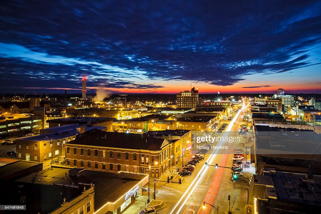Downtown Columbia Missouri