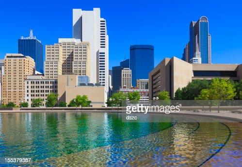 Downtown Dallas cityscape