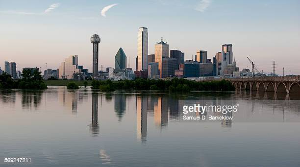 Downtown Dallas Skyline after Sunset