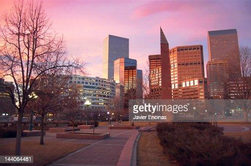 Downtown Denver : Stock Photo