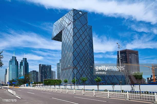 Downtown district of beijing