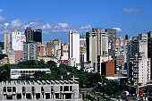 Downtown district skyline, Caracas, Venezuela