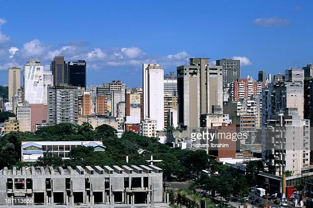 Downtown district skyline, Caracas, Venezuela