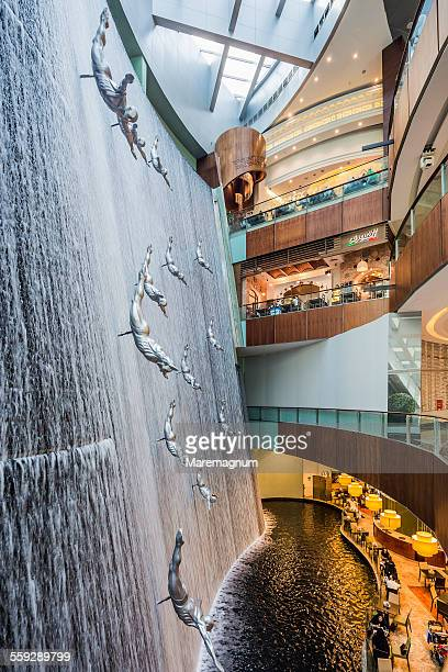 Downtown Dubai, Dubai Mall, the Waterfall