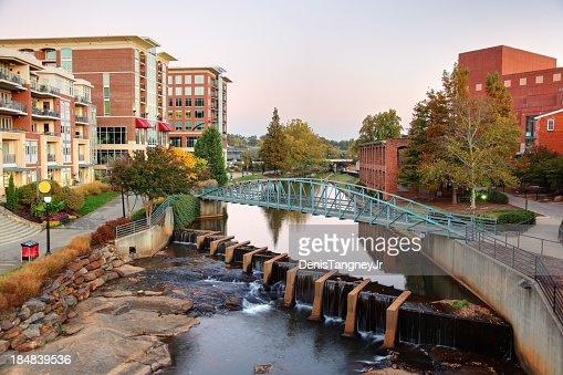 Downtown Greenville South Carolina