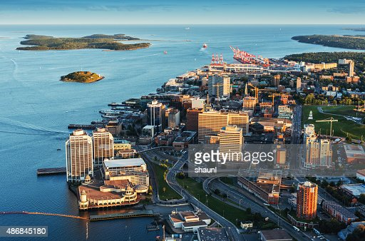 Downtown Halifax Aerial View