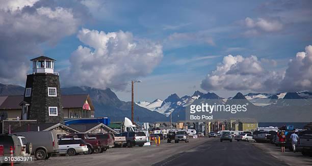 Downtown Homer Spit, Alaska