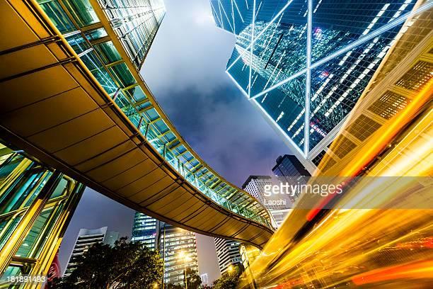 Estação do centro da cidade de Hong Kong