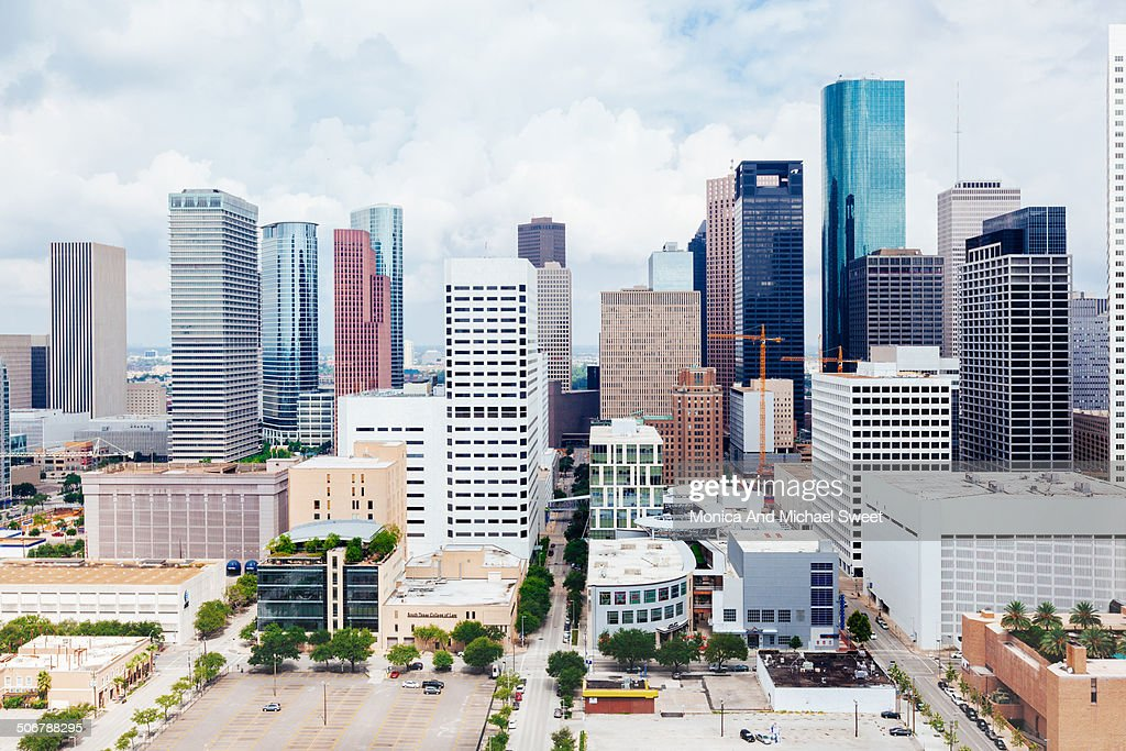 Downtown Houston City