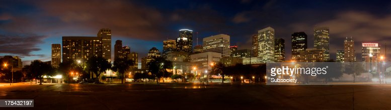 Skyline del centro di Houston, Texas