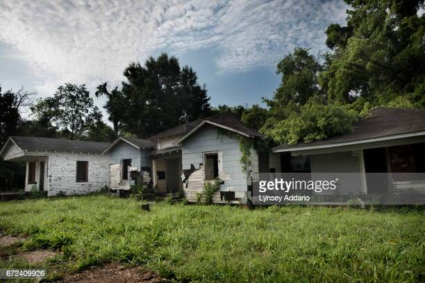 Downtown Jackson Mississippi May 31 2012 When the state of MIssissippi integrated its schools many white families fled shuttering the businesses and...
