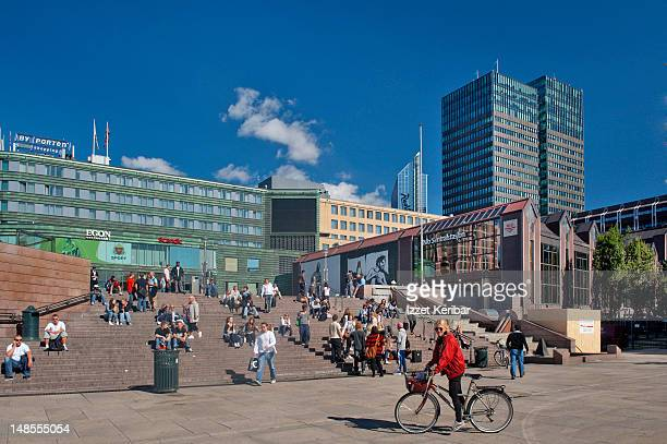 Downtown Jernbanetorget.