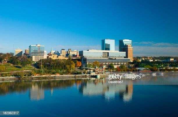 Downtown Knoxville and the Tennessee River
