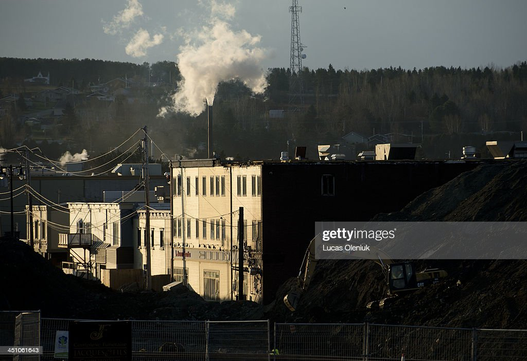 Downtown Lac-Mégantic now resembles a giant contraction zone as town planners rebuild following this summer's tragic train derailment and oil spill.