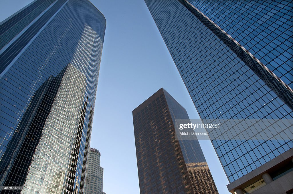 Downtown Los Angeles buildings : Stock Photo