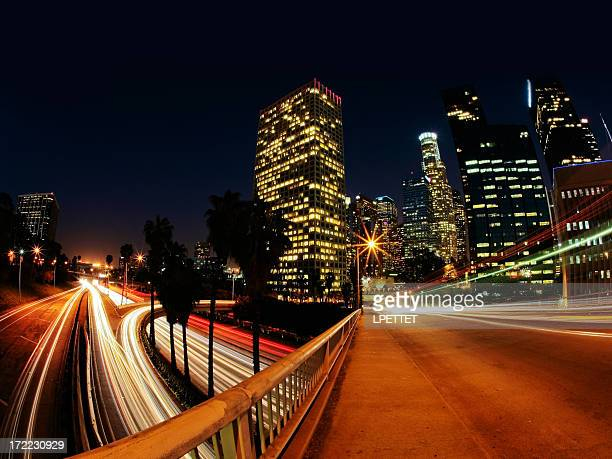 Downtown Los Angeles Long Exposure