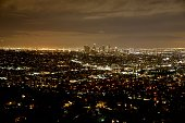 Downtown Los Angeles panorama from Griffith Park