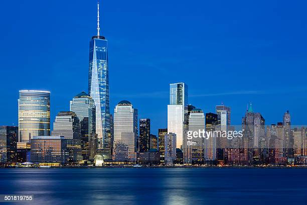 Downtown Manhattan at Twilight, New York