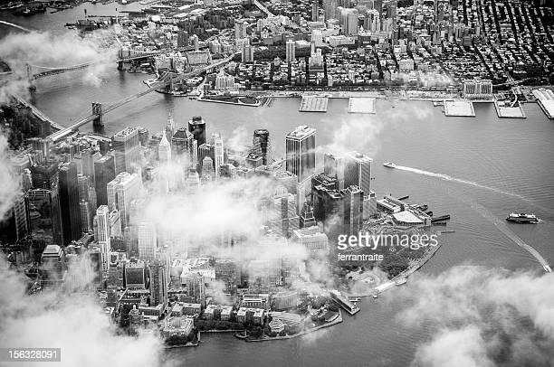 Le centre-ville de Manhattan, New York