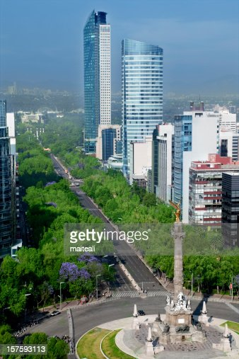 Downtown Mexico City in Mexico