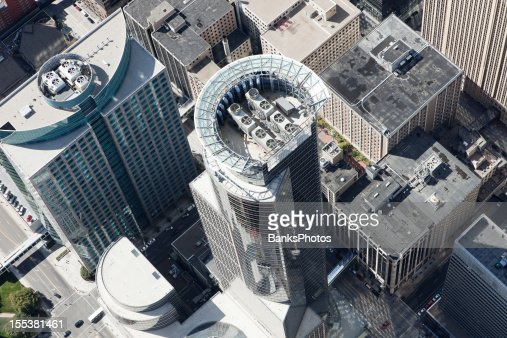 Downtown Minneapolis Aerial featuring the Capella Tower