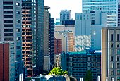 Downtown Montreal Canada.