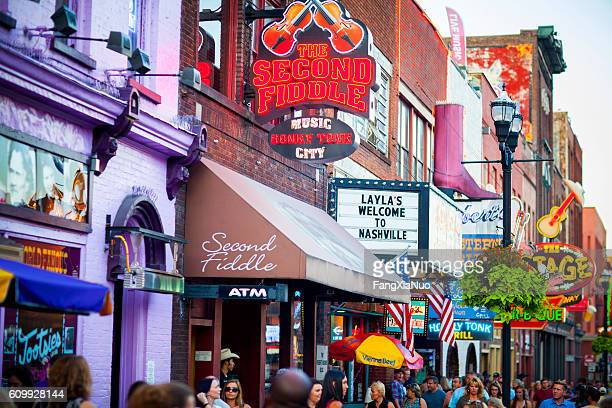Downtown Nashville music entertainment establishments
