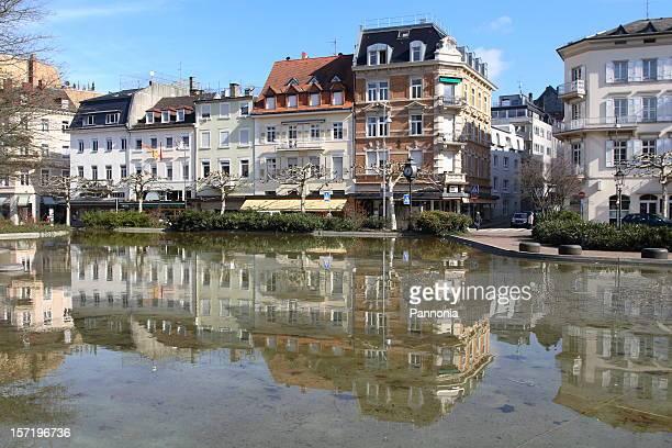 Le centre-ville de Baden-Baden