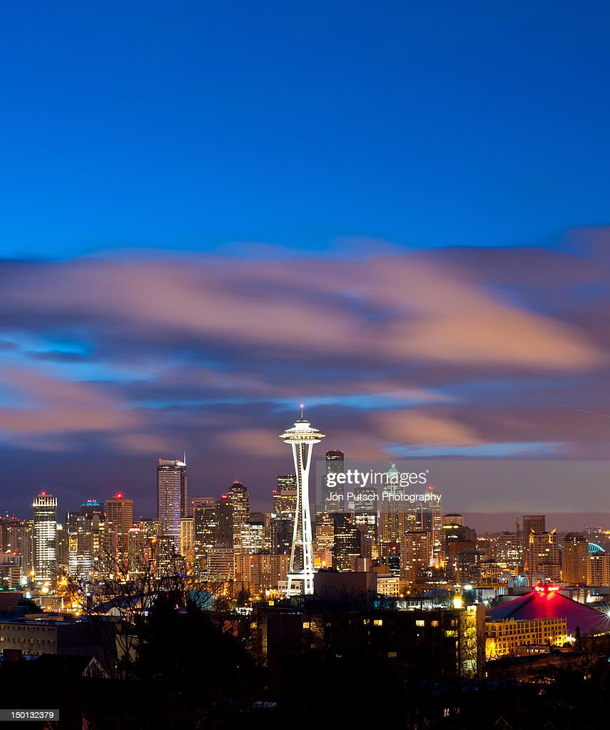 Downtown of Seattle : Stock Photo