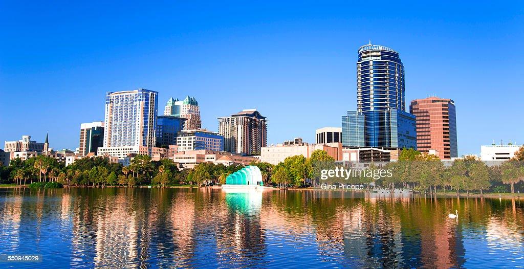 Downtown Orlando view, Florida
